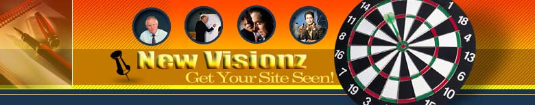 New Visions Header image Where We Help Get You Rank to bring targeted visitors to your site